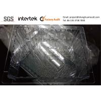 Clear PC Tray Mold with Valve Gate Injection for sale