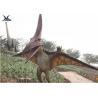 Life Size Velociraptor Outdoor Dinosaur , Waterproof Little Pterosaur Dinosaur Garden Sculpture for sale