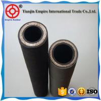Wholesale High quality hydraulic rubber hose high pressure steel wire reinforced hydraulic rubber hose from china suppliers
