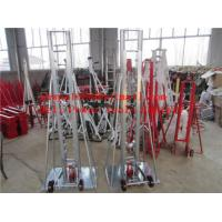 Wholesale Cable Drum Jacks  Tripod cable drum trestles  made of steel from china suppliers