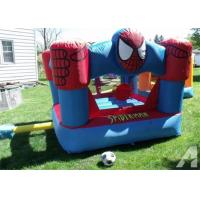 Wholesale Mini Spiderman Inflatable Bouncer , Plato PVC Tarpaulin Children Jumping Castle from china suppliers