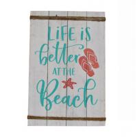 Wholesale Letter print on wood wall signs art for Home/Bar Interior Decor Wall Hanging decoration from manufacturers from china suppliers