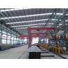 YT Factory Price industrial Electric Hoist single beam semi gantry crane for sale