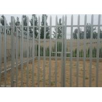 Wholesale Hot Dipped Galvanized Metal Palisade Fencing For Garden Decoration , 2.75m Height from china suppliers
