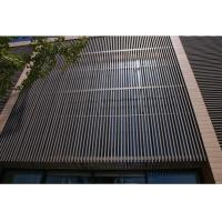 China UV Resistant Waterproof WPC Wall Cladding Panel For Room Roof / Garden Draining on sale