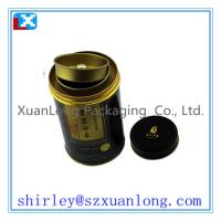Wholesale 4 full printing round tea tin with good quality from china suppliers