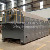 China Eco - Friendly Coal Fired Hot Water Boiler Horizontal Type For Paper / Textile Factory for sale