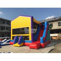 Wholesale 0.55mm Pvc Amazing Bounce House Slide Combo For Outdoor Entertainment from china suppliers