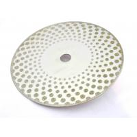 Wholesale Continuous Rim Circular Saw Stone Blade , Diamond Saw Blades For Stone from china suppliers