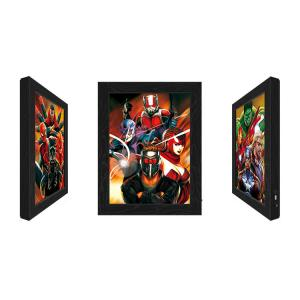 Wholesale Outdoor LED 3D Lenticular Pictures With Marvel Movie Character from china suppliers