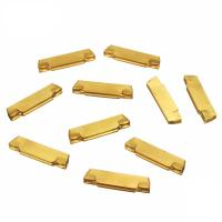China Good Abrasion Resistance Carbide Cutting Inserts With PVD Coated Surface on sale