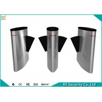 Wholesale Access Control Flap Barrier Gate Tailgating Alarm ESD Mechainsm Turnstiles from china suppliers
