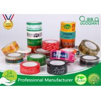 Wholesale Personalized Red / Black / Yellow Bopp Adhesive Tape For Box Seal Packaging from china suppliers