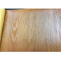 China Non Sticky PVC Vacuum Pressing Sensitive Laminating Film For Furniture Industry on sale