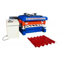 Wholesale Ppgi / Gi Roof Tile Manufacturing Machine Material Width 1220mm 18 Rollers from china suppliers