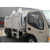 Wholesale Special Purpose Vehicles Side Loader Garbage Truck 7300kg with 5000L Carriage Volume from china suppliers