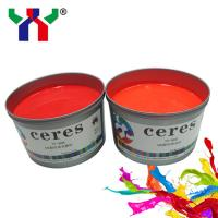 China Red Offset Fluorescent Ink, Fluorescent Ink Supplier for sale