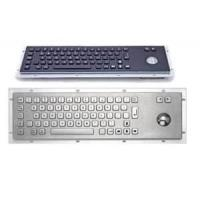 Wholesale Dust-proof 103 keys black industrial metal keyboard with number keypad MKB-FN103A-TP-B from china suppliers