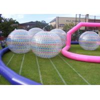 Wholesale Commercial outdoor inflatable games , Giant Inflatable Zorb Ball /  Human Hamster Ball from china suppliers