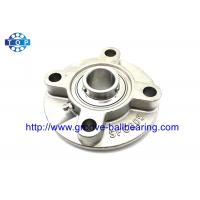 China Four Bolt Flange SUCFC205 Pillow Block Bearing UCFC205 Flange Bearing Stainless Steel on sale