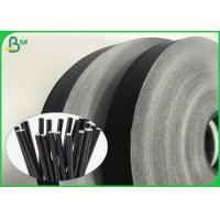 China Environmental 14mm 15mm 60gsm 120gsm Food Grade Black Printed Paper For Straws for sale
