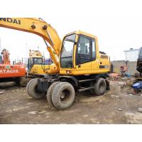 Quality Used HYUNDAI 150W-7 Wheel Excavator For Sale for sale