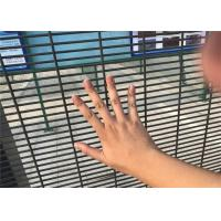 Wholesale High Security Fence galvanized 358 Fence welded wire mesh panel fencing from china suppliers
