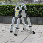 China Multi-Purpose Alloy Aluminum Foldable Telescopic Double Ladder for sale