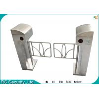 Wholesale Automatic Supermarket Swing Gate Intelligent Vertical Swing Turnstiles System from china suppliers