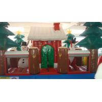 Wholesale PVC Inflatable Advertising Products Giant Blow Up Santa Claus House for Kid from china suppliers