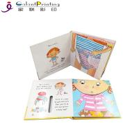 China Educational Die Cutting Custom Hardcover Book Printing Cardboard Touch And Feel Books for sale