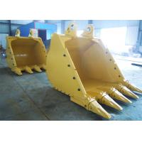 Wholesale Wear Resistant Tilting Backhoe Rock Bucket High Performance For Cleaning Hard Soil from china suppliers