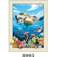 Wholesale Stunning Sea World Animals Painting 5D Pictures / Lenticular Photo Printing from china suppliers