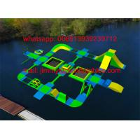 China 2017 New Factory Price Kids Challenge Waterpark Game Sports, Inflatable Floating Water Park Equipment For Sale on sale