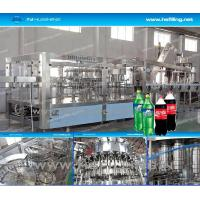 Wholesale Rotary Washing Carbonated Filling Machine 10000 - 12000 Bottles Soda from china suppliers