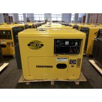Weatherproof Soundless Silent Electric Generator Set Low Fuel Consumption for sale