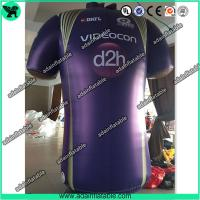 Wholesale Advertising Inflatable Cloth Replica T-Shirt Model/Sports Promotion Inflatable from china suppliers
