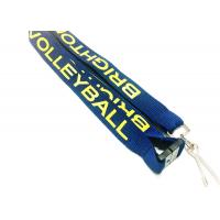 Quality Flat Custom Polyester Lanyards , Cell Phone Holder Lanyard With Professional for sale
