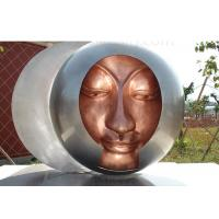 Wholesale Welding Decorations Metal Bronze Statue Abstract Garden Sculpture 200cm Dia from china suppliers