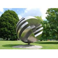 Wholesale Large Garden Ball Outdoor Metal Sculpture Stainless Steel Sculpture from china suppliers