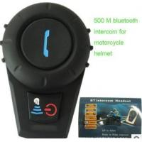 Wholesale Helmet Bluetooth Intercom Headsets for Motorcycle 500Meters from china suppliers