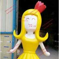 Buy cheap japanese famous movie cartoon  statue of fiberglass colorful  for  garden model props from wholesalers
