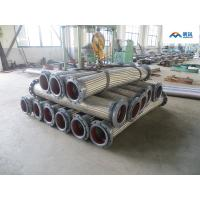 China flange end metal pipe SS304 braided stainless steel Flexible metal hose on sale