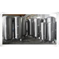 Wholesale Stainless Steel Air Compressor Receiver Tank 60 Gallon / 80 Gallon / 100 Gallon from china suppliers