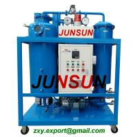 Buy cheap 15 Years Manufacturing Experience Vacuum Steam Turbine Oil Purifier/ Oil Purification Plant from wholesalers