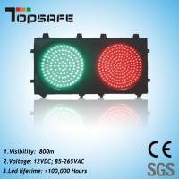 Wholesale 200mm (8 inches) Red & Green Traffic Signal Light (TP-JD200-3-202) from china suppliers