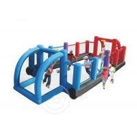 Wholesale Kids Inflatable Sports Games 3 in 1 nflatable Football / Soccer Field / Court from china suppliers