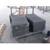 Black With Snow White Natural Stone Slabs Nero Biasca Granite Pavement Stone for sale