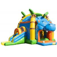 Wholesale Attractive Inflatable Toddler Bounce House With Slide , Commercial Inflatable Jump House from china suppliers