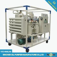 China CE Portable Vacuum Decolorizaation Transformer Oil Purifier Machine Remove Water And Impurities on sale